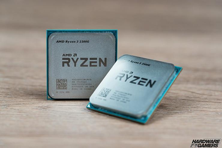AMD Ryzen 5 2400G 3DMark 4550MHz 3