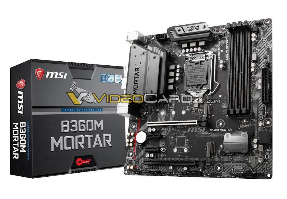 MSI B360M MORTAR 4