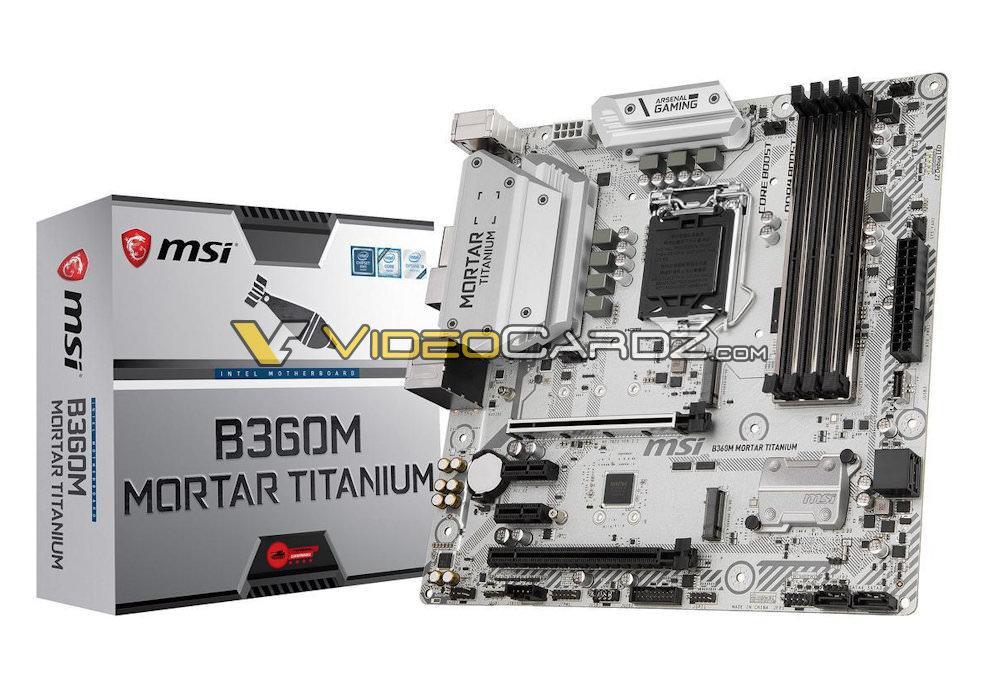 MSI B360M MORTAR TITANIUM 4