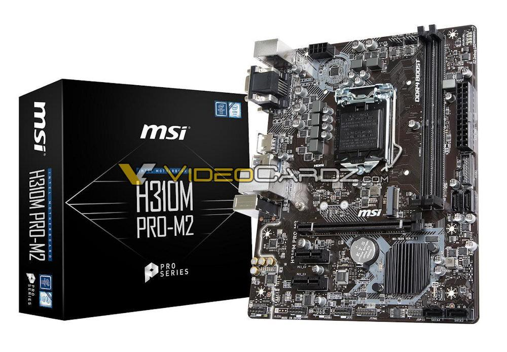 MSI H310M PRO M2 4
