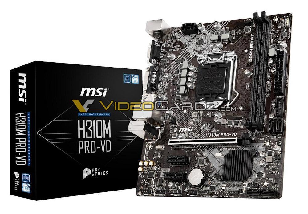 MSI H310M PROVD 3
