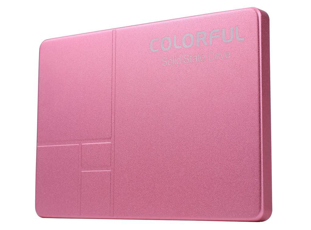 Colorful предлагает розовые SSD-накопители SL300 160G Spring L.E.