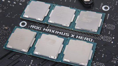 Больше процессоров Intel Core 8-го поколения и больше плат с чипсетами 300-ой серии появятся в апреле