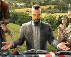 Компания Ubisoft опубликовала новый «живой» трейлер Far Cry 5