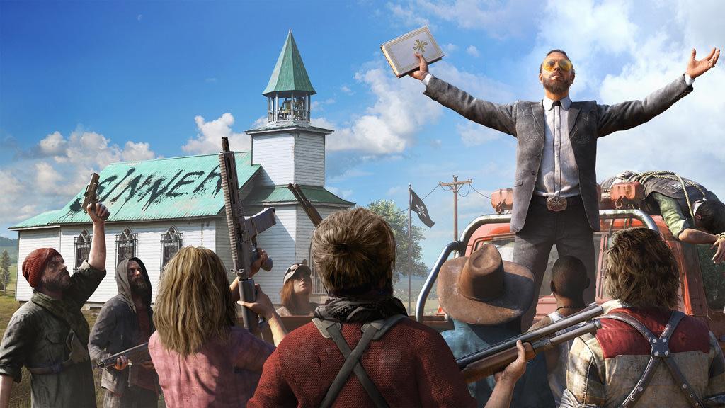 Компания Ubisoft опубликовала новый трейлер в честь очень скорого выхода Far Cry 5