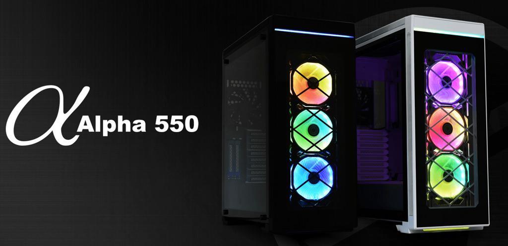 Lian Li Alpha 550 1