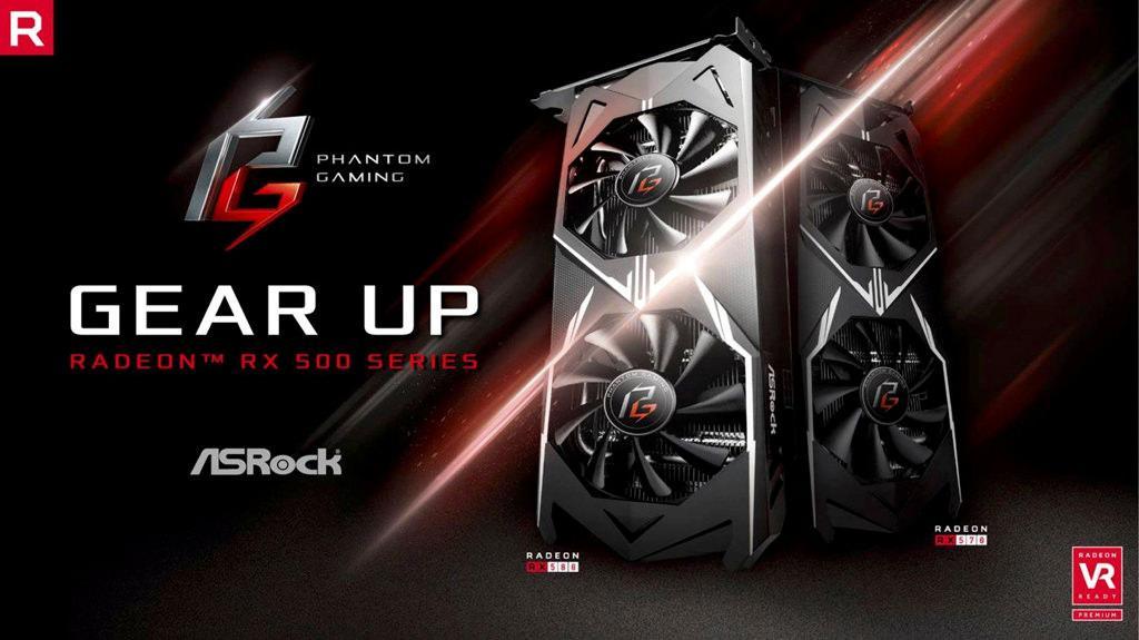 ASRock Radeon RX 500 Phantom Gaming 1
