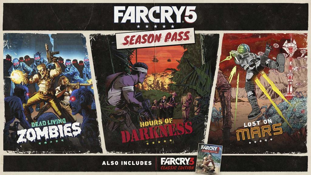 О дополнениях и прочем пост-релиз контенте Far Cry 5 в Season Pass трейлере