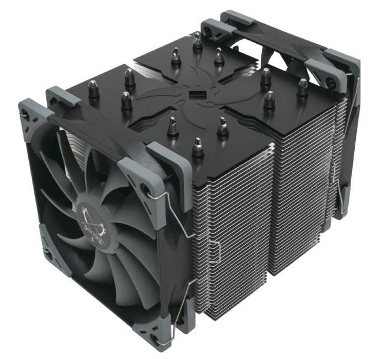 Scythe Ninja 5 – очень много металла и два вентилятора всего за 45$