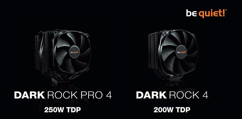 Be Quiet! выпускает процессорные кулеры Dark Rock 4 и Dark Rock Pro 4