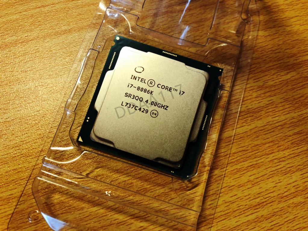 Intel готовит юбилейный процессор Core i7-8086K