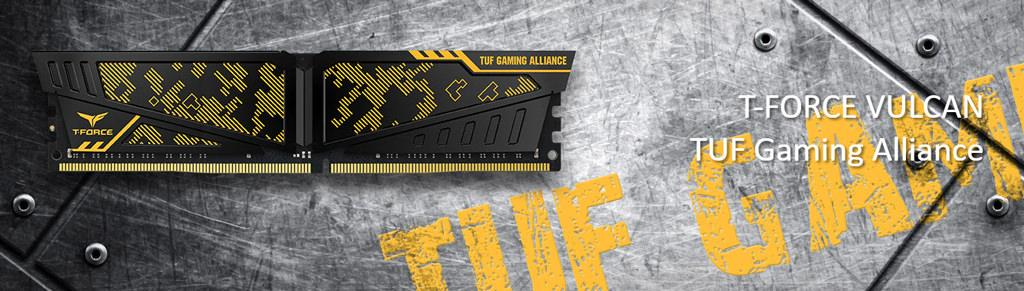 Team T Force Vulcan TUF Gaming Alliance DDR4 1