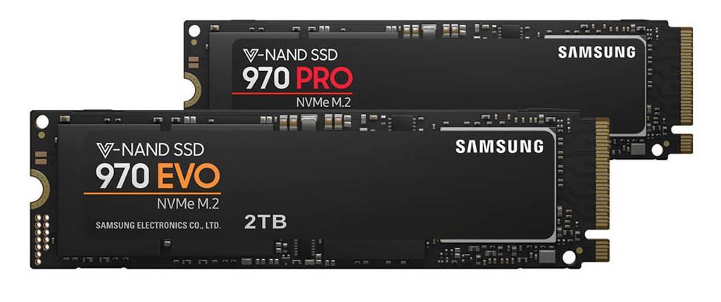 Samsung 970 EVO 970 PRO 2