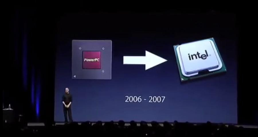 Apple go away Intel