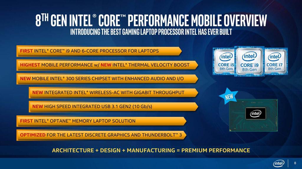 Intel 8 Gen Mobile 2