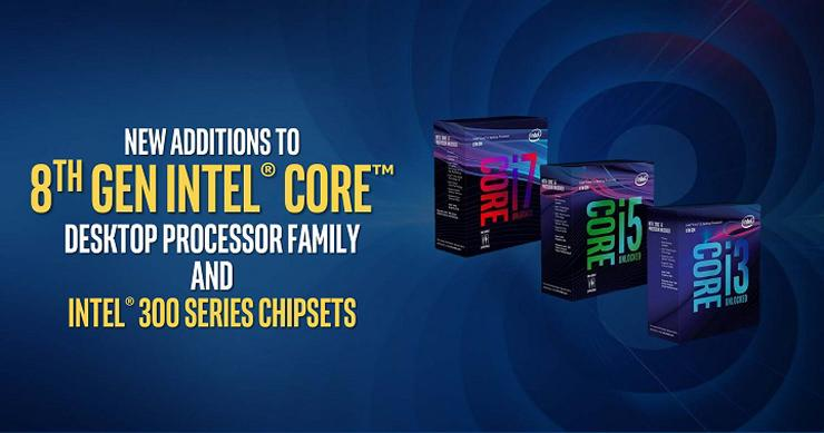 Intel Coffee Lake 300 chipset mobo 1