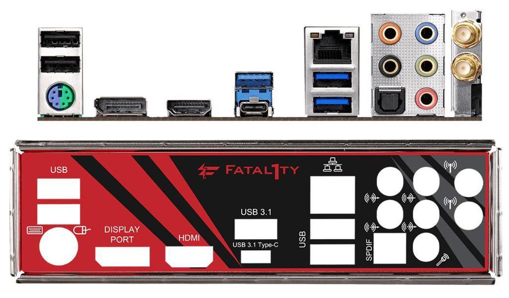 ASRock X470 Fatal1ty Gaming ITXac 5