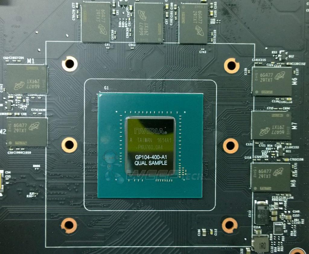 GPU GP104 GTX 1060 6 GB