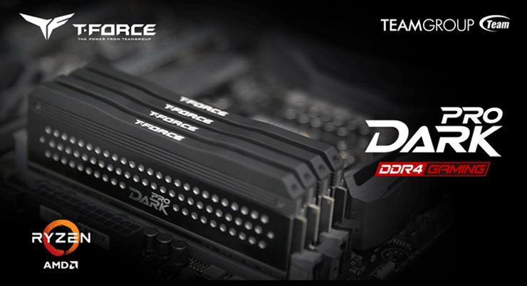 TeamT Force Dark Pro DDR4 1