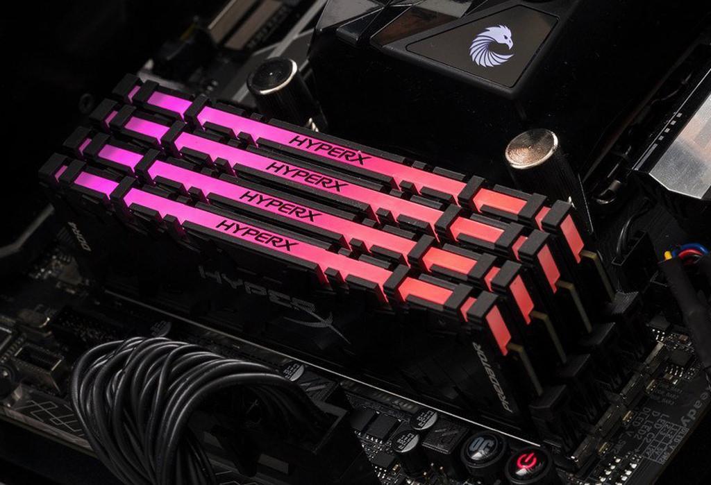 HyperX представила модули памяти Predator DDR4 RGB инфракрасной синхронизацией подсветки