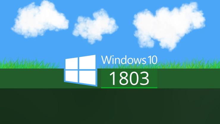 Windows 10 build 1803 1