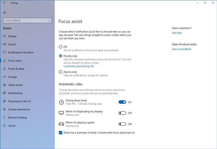 Windows 10 build 1803 3