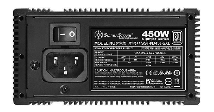 SilverStone NightJar NJ450 SXL 3