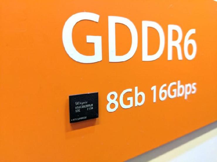 SK Hynix GDDR6 chips to NVIDIA 1