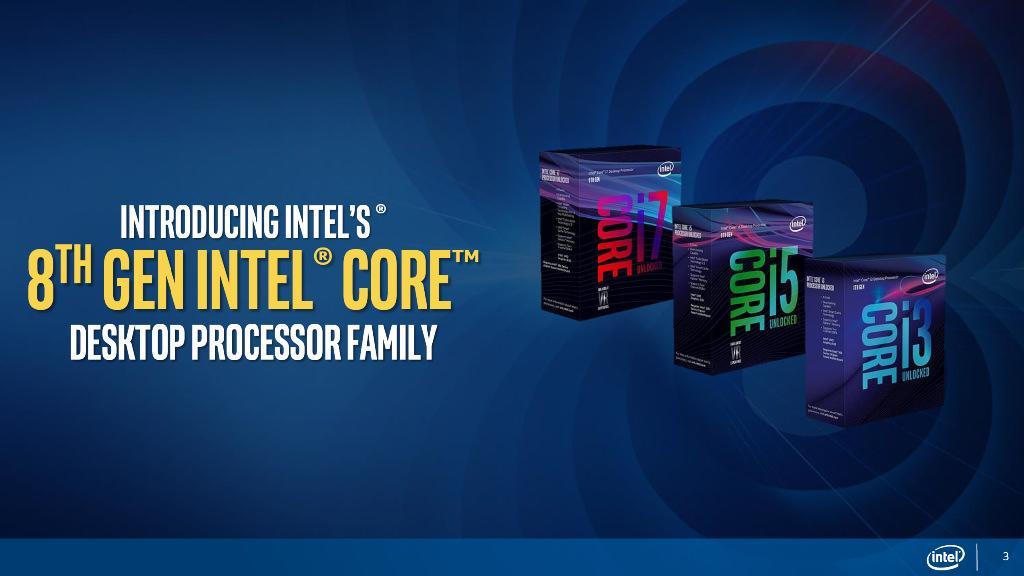Восьмиядерных Intel Coffee Lake будет как минимум два