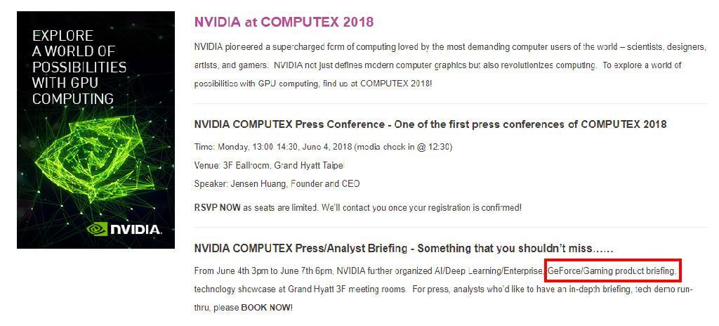 NVIDIA GTC TAIWAN 2018 2
