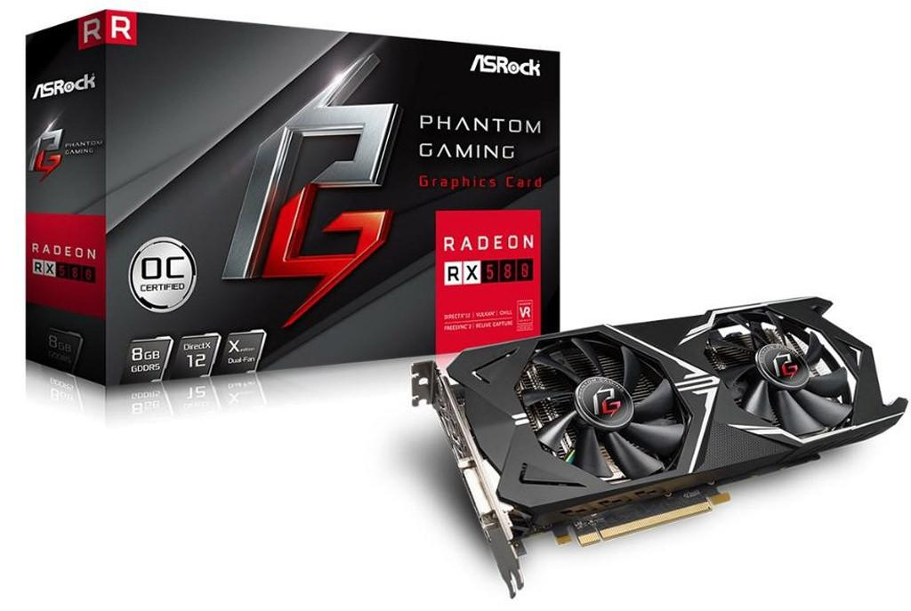 ASRock RX 580 Phantom Gaming X