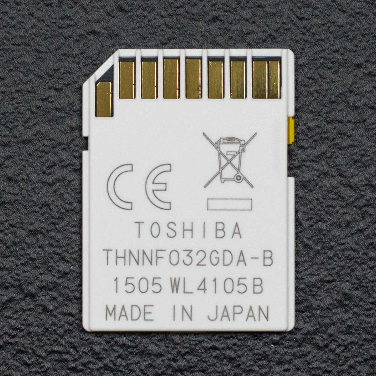 Обзор SDHC карты памяти TOSHIBA SD-T032NFC объемом 32 ГБ
