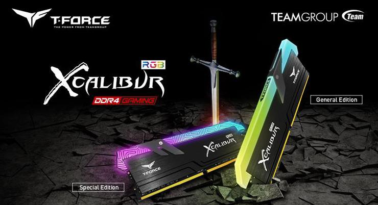 T Force Xcalibur RGB DDR4 1