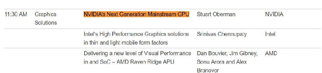 NVIDIA Next Gen Mainstream GPU Hotchips30 2