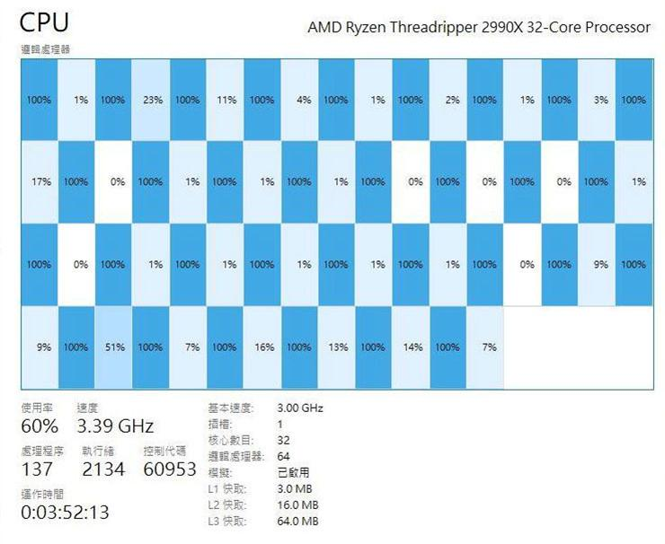 AMD Ryzen Threadripper 2990X 3