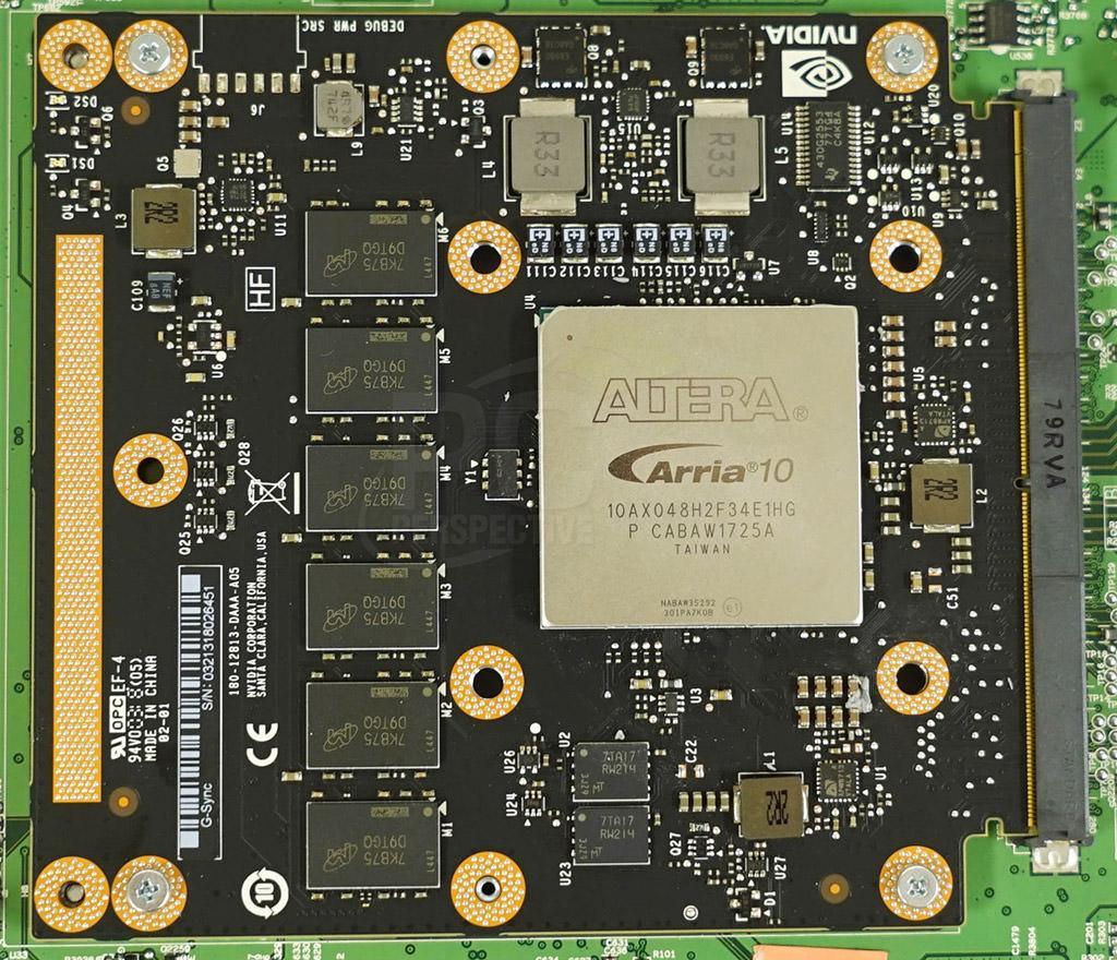 Модуль NVIDIA G-Sync с поддержкой HDR и 4К при 144 Гц сам по себе стоит 0