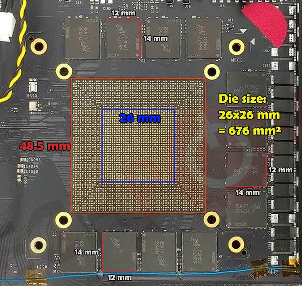 Изучаем площадь GPU преемника GeForce GTX 1080 Ti