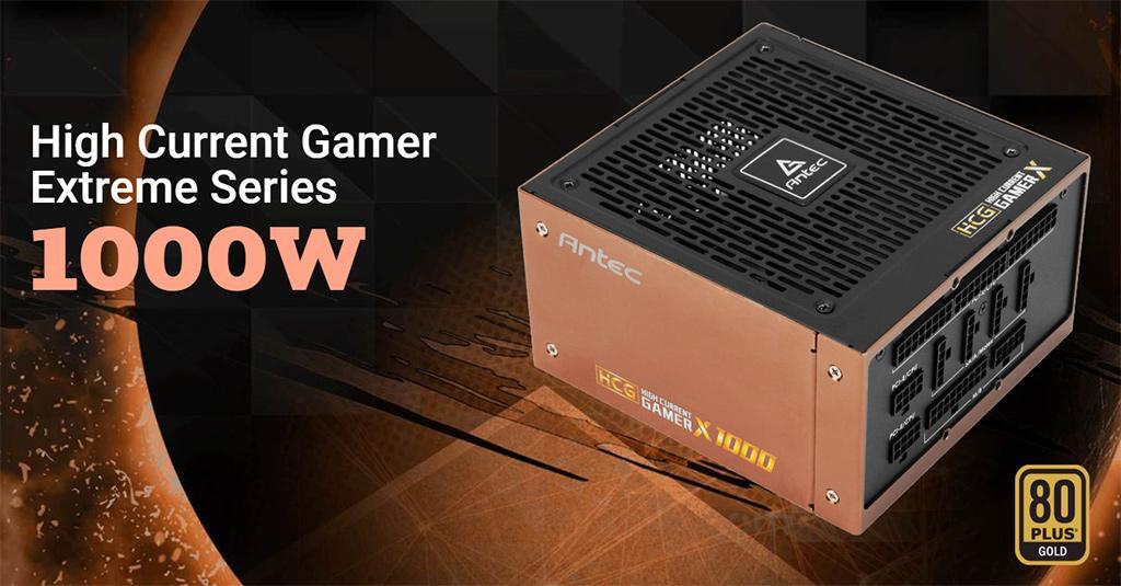High Current Gamer Extreme – новая серия «золотых» блоков питания от Antec с серверными корнями