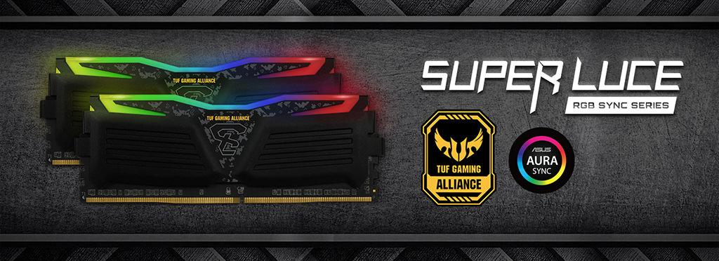 GeIL DDR4 Super Luce RGB TUF Alliance 1