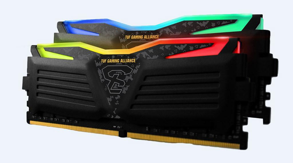 GeIL DDR4 Super Luce RGB TUF Alliance 2