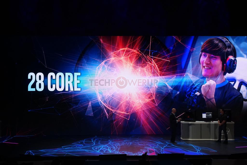 Intel готовит 28-ядерный/56-поточный процессор для HEDT-платформы