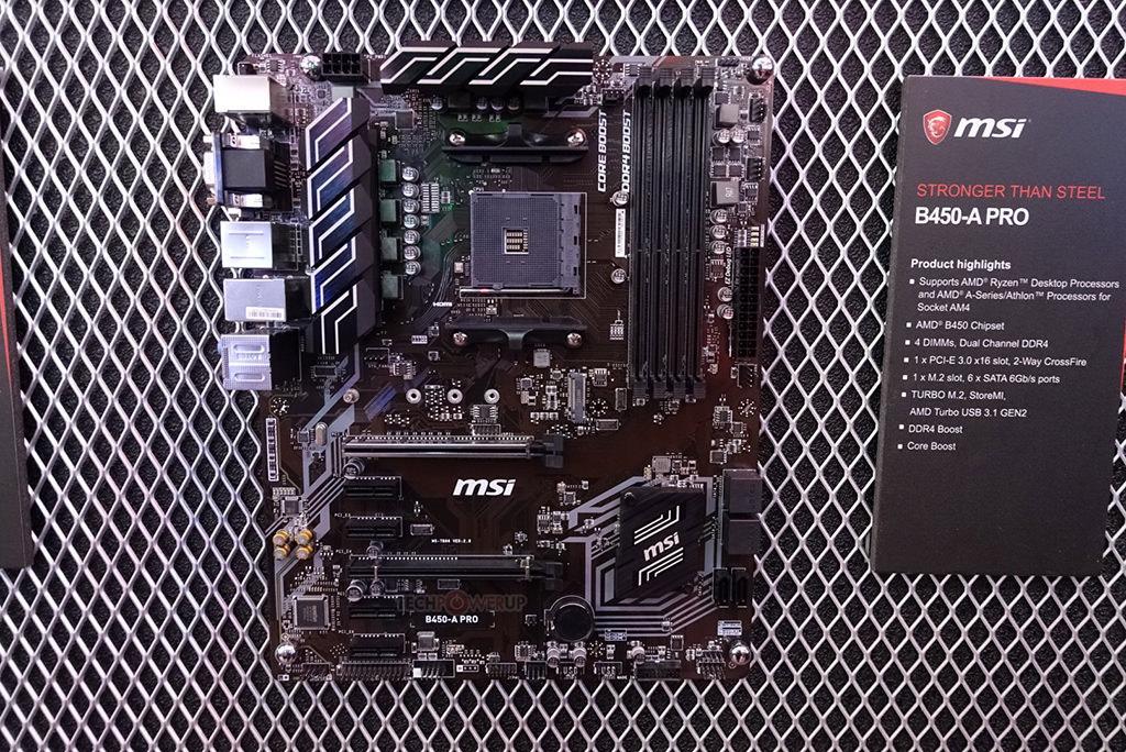 MSI B450 Tomahawk B450A Pro 2