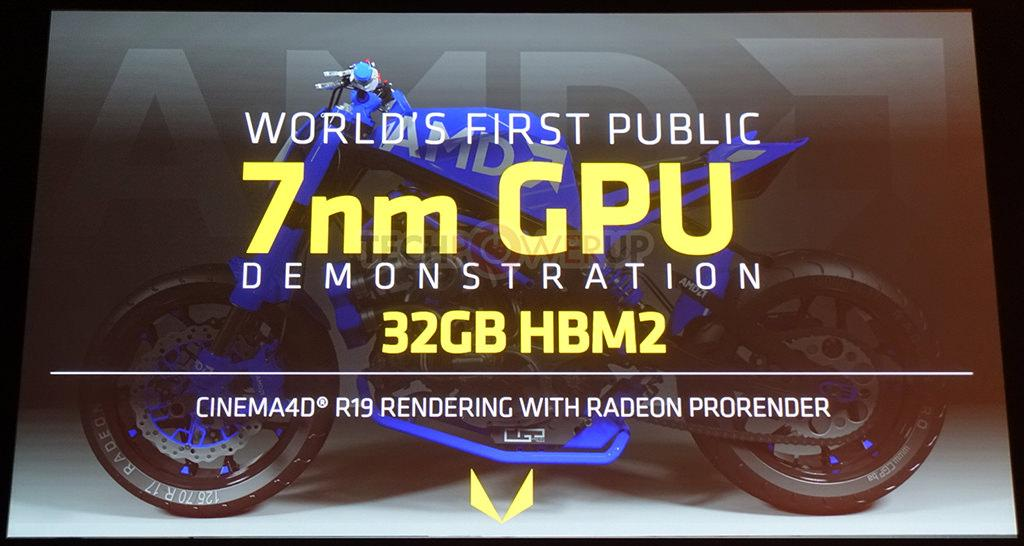 AMD Radeon Vega Instinct 7 nm 1