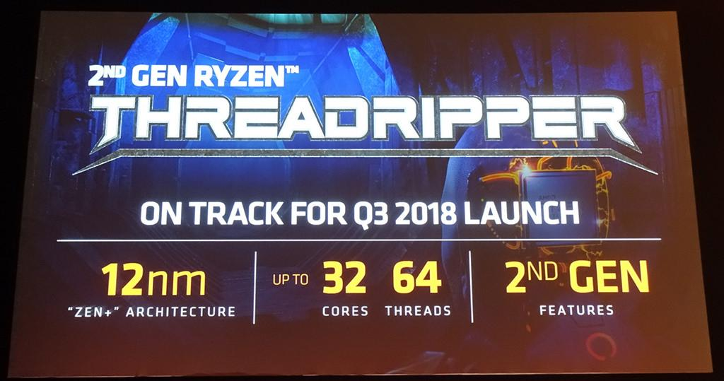 AMD Ryzen Threadripper 2 gen 32 core 1
