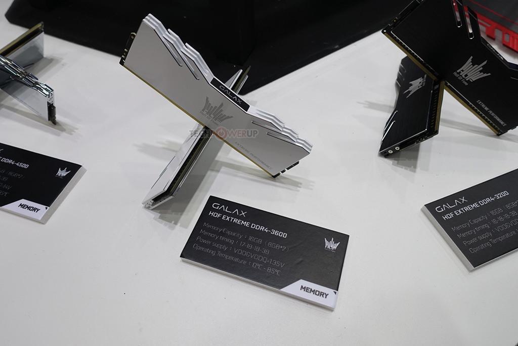GALAX HOF Extreme Limited Edition DDR4 5000 4