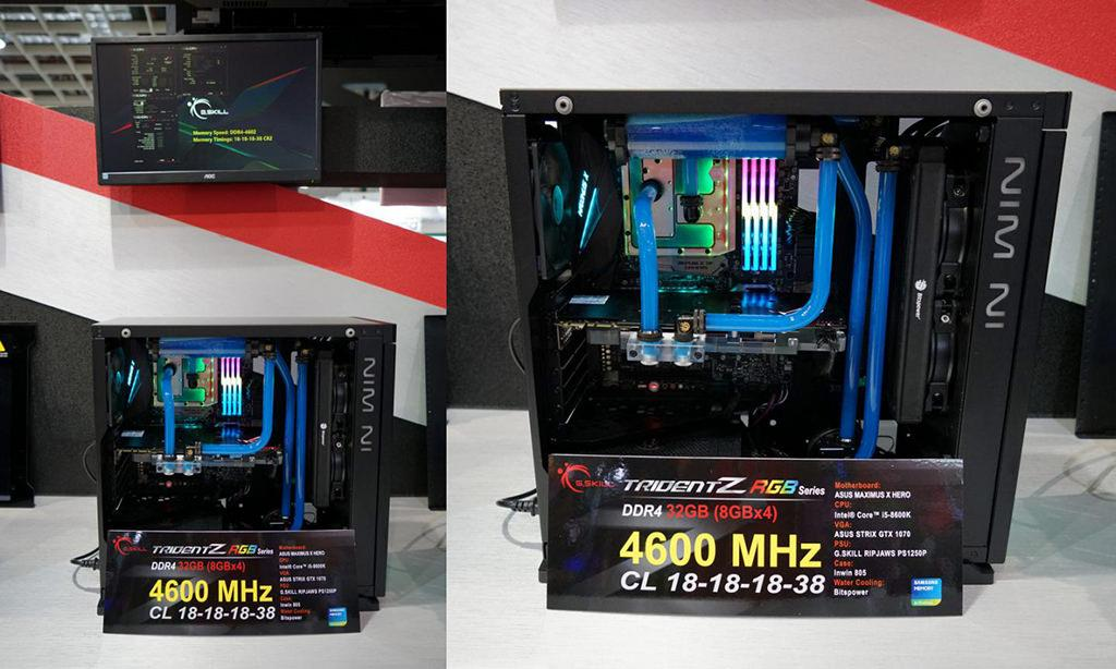 GSkill computex 2018 DDR4 5000 3