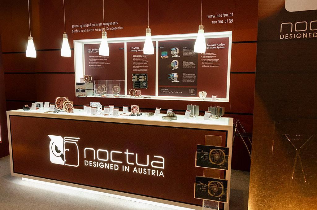 Computex 2018: стенд Noctua. Часть 1, вентиляторы