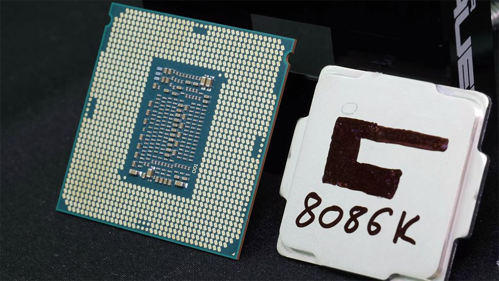 Intel Core i7 8086K Der8auer 7.24ghz 5