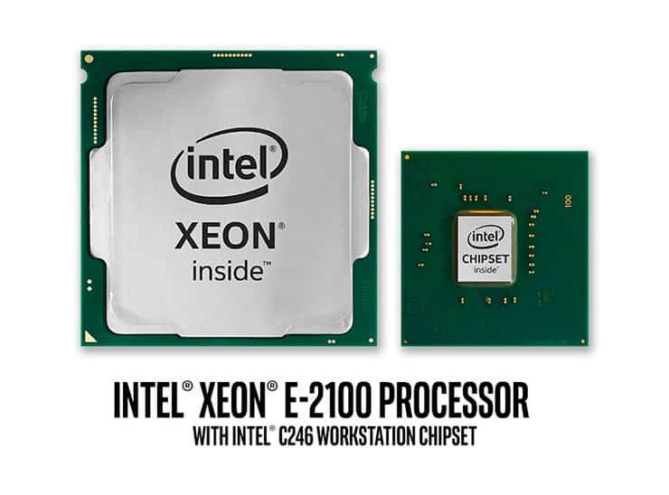 Intel Xeon E 2100 1