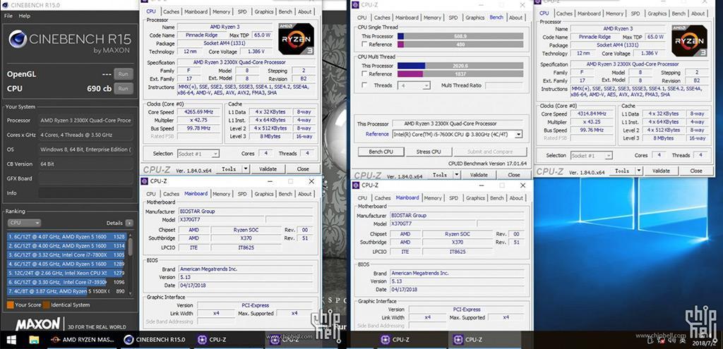 AMD Ryzen 3 2300X 3